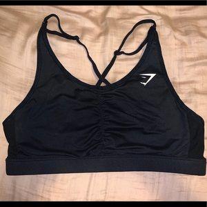 Black XL Gymshark Ease Sports Bra